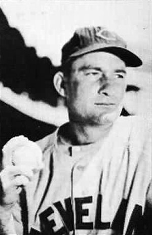 Bob Lemon - Lemon during his playing career with Cleveland