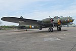 Boeing B-17G Flying Fortress '124485 DF-A' 'Memphis Belle Sally B' (G-BEDF) (25374626199).jpg