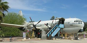 Boeing 377 Stratocruiser - 377M Anak, Israeli Air Force Museum (2007)