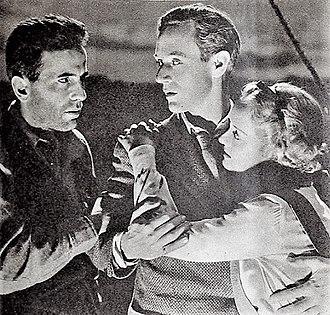 Arthur Hopkins - Humphrey Bogart,Leslie Howard, and Bette Davis in The Petrified Forest, 1936