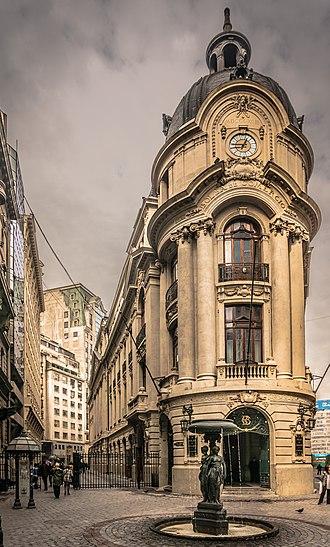 Santiago Metropolitan Region - Bolsa de Comercio of Santiago