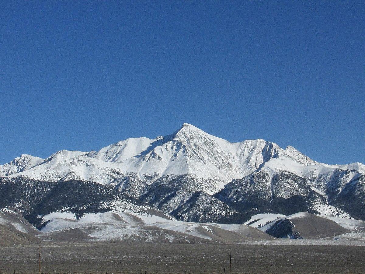 List of mountain peaks of Idaho - Wikipedia