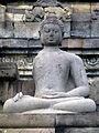 Borobudur - Buddha Statue - 015 Bhumisparsa Mudra, Akshobhya (11679623656).jpg