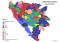 Bosnia and Herzegovina, mayoral elections, 2004-sr.png