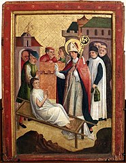 Saint Martin resurrects a Child