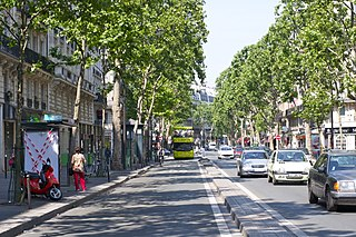 Boulevard Saint-Germain boulevard in Paris, France