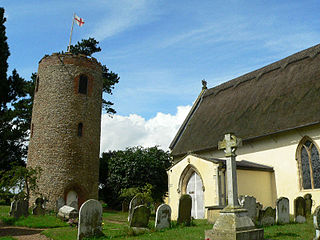 Bramfield, Suffolk village and civil parish in the east of the English county of Suffolk