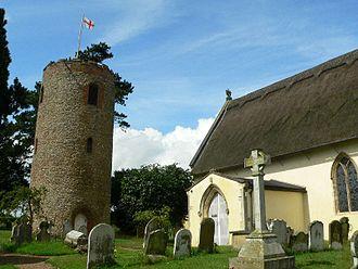Bramfield, Suffolk - Image: Bramfield g 3