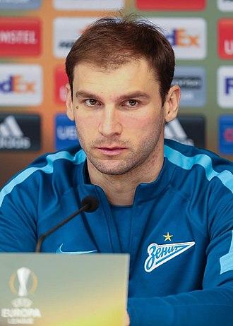 Branislav Ivanović - Ivanović at Zenit in 2017
