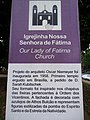 Brasilia DF Brasil - Igrejinha N. S. de Fátima, sinalização - panoramio.jpg