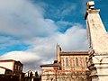 Bretx - Mairie, église et monument aux morts.jpg