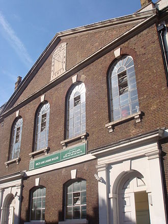 Brick Lane Mosque - Image: Brick Lane Mosque 2