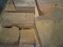 Brick Stamp-Impressions of the Legio X Fretensis.JPG