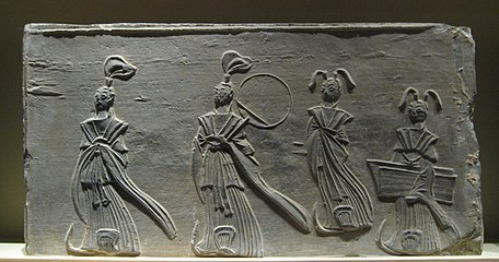 Brick relief of two scholars and two maids.jpg