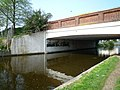 Bridge over the Grand Union Canal, adjacent to the Hambrough Tavern - geograph.org.uk - 1266779.jpg