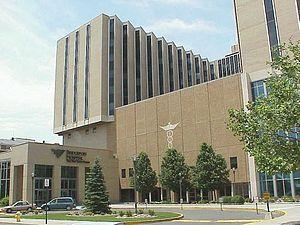 Bridgeport Hospital - Image: Bridgeport Hospital Entrance
