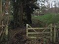 Bridle gate near Sene Farm - geograph.org.uk - 2165899.jpg