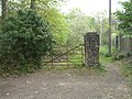 Bridleway gate and pillars - geograph.org.uk - 411699.jpg