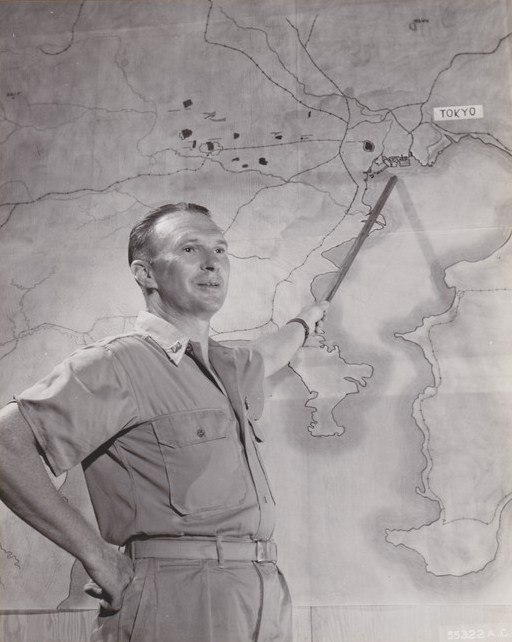 Briefing for attack on Tokyo November 1944