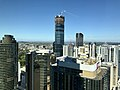 Brisbane Skytower seen from level 45 of 111 Eagle Street, Brisbane.jpg