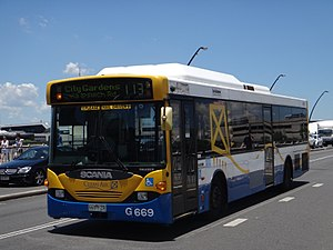 Brisbane Transport - Volgren bodied Scania L94UB.