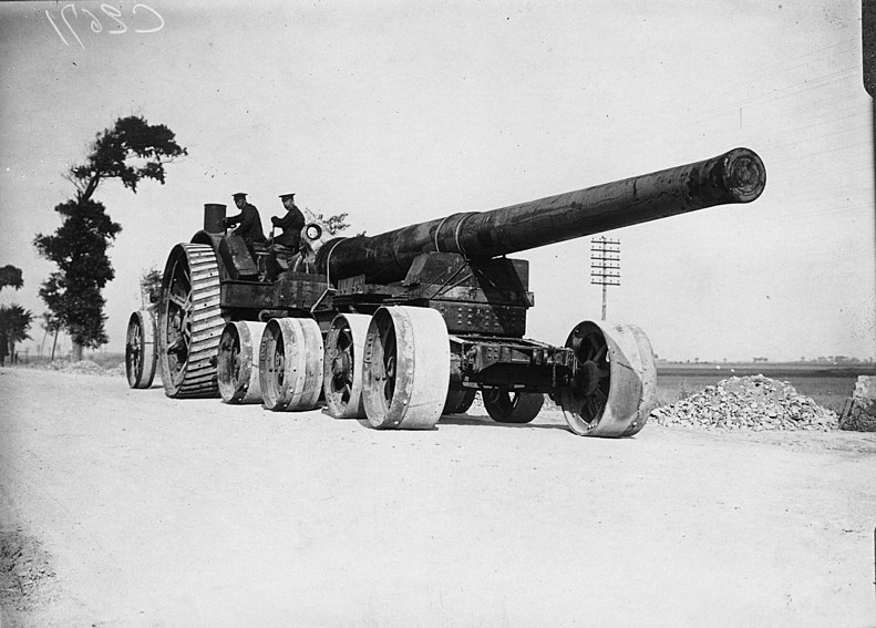File:British gun going to its position, Battle of Flanders, Ypres, Belgium, 1914 (3012797250).jpg