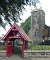 Broughshane County Antrim church and gate.jpg