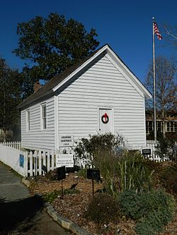 The historic Brownings Courthouse in December 2012