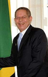Jamaican politician; Prime Minister of Jamaica
