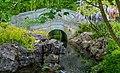 Brug over waterloop. Locatie, Chinese tuin Het Verborgen Rijk van Ming in de Hortus Haren 03.jpg