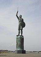 Brythnoth statue Maldon