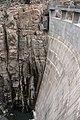 Buffalo Bill Dam downstream face.jpg
