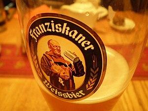Spaten-Franziskaner-Bräu - A glass of Franziskaner Weissbier