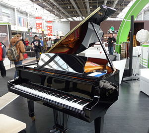 Petrof - Petrof piano at the exhibition