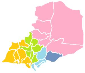 Legislative district of San Jose del Monte - Image: Bulacan districts