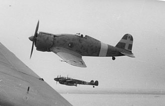 Fiat G.50 - A Regia Aeronautica G.50 flying with a Luftwaffe Messerschmitt Bf 110 over North Africa in 1941