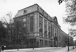Reinhard Heydrich - Gestapo headquarters on Prinz-Albrecht-Straße in Berlin, 1933