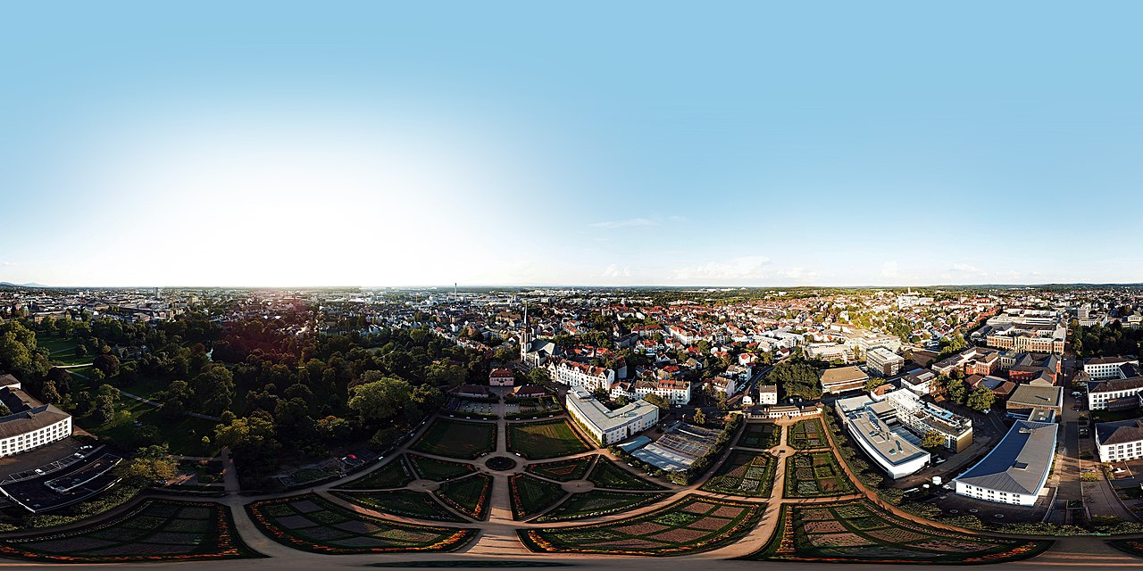 a 360° Panorama of the Bundesdatenschau (also known as #MRMCD17 or #MRMCD2017) in Darmstadt