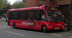 Bus on Wharncliffe Road, Ilkeston (Crop).jpg