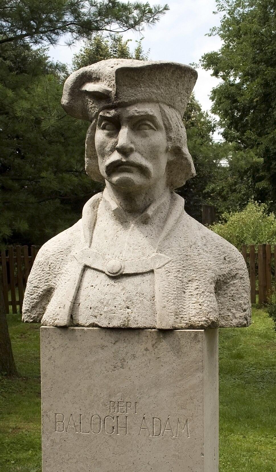 Bust of Ádám Béri Balogh