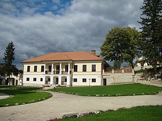 Căpriana monastery - Image: Căpriana monastery house
