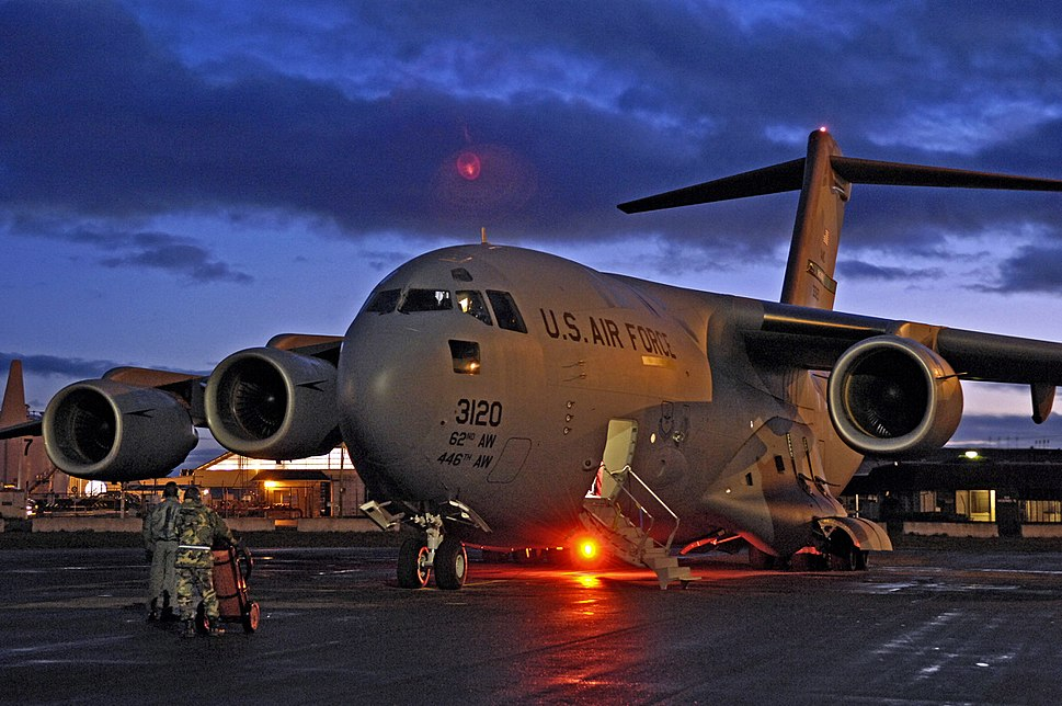 C-17 Globemaster III in Christchurch