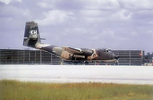 535th Airlift Squadron - DeHavilland C-7A of the 535th Tactical Airlift Squadron at Cam Rahn Bay in 1971