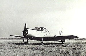 CA-25 Winjeel trainer aircraft in No 1 Basic Flying Training School.jpg