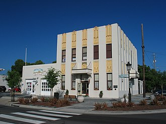 Livermore, California - Old fire station in downtown Livermore