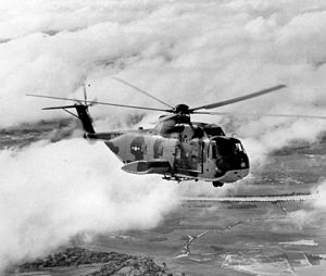 703d Tactical Air Support Squadron - Sikorsky CH-3 helicopter in flight