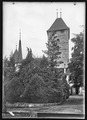 CH-NB - Spiez, Schloss, vue partielle extérieure - Collection Max van Berchem - EAD-6701.tif