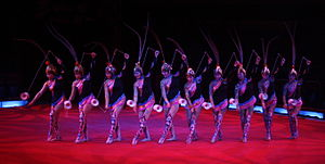 Deutsch: China National Acrobatic Troupe - Sho...