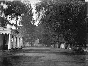 Pasuruan - Hotel Morbek on Heeren Street in Pasuruan, circa 1870-1891