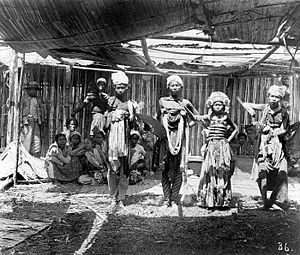 Sasak people - Sasak dancers.